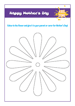 primary pshe lesson handout - colour in charcater