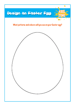 PSHE resources for primary schools - design an easter egg