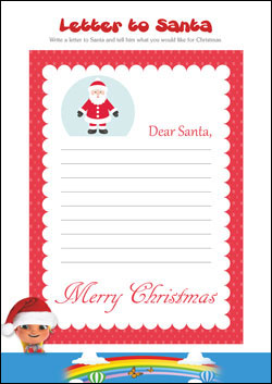 PSHE resources for primary schools - santa letter
