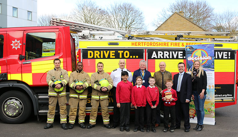 Herts Fire Service and 1decision